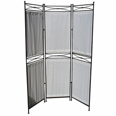Valencia Privacy Screen - Black - Pangaea Home and Garden Furniture - FM-C4173-K