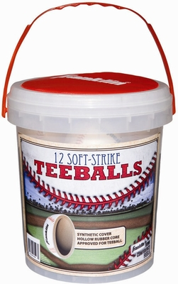 Value Pack Teeballs 12 Pack - Franklin Sports