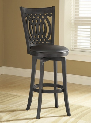 Van Draus Swivel Counter Stool with Flare Leg - Hillsdale Furniture - 4975-827