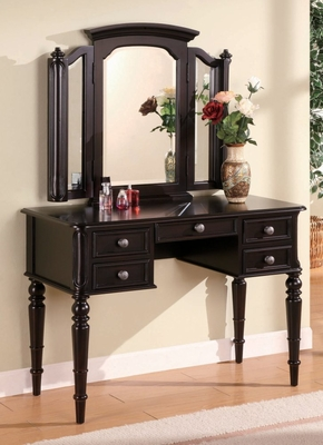 Vanity Table with Mirrors - Coaster