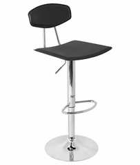 Vector Barstool Black - LumiSource - BS-TW-VECTOR-BK