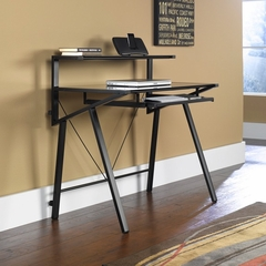 Vector Computer Desk Black / Black - Sauder Furniture - 411980