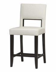 Vega Counter Stool - Linon Furniture - 14053WHT-01-KD-U