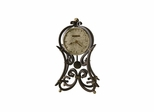 Vercelli Wrought Iron Mantel Clock - Howard Miller
