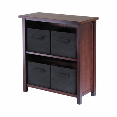 Verona M Storage Shelf - Winsome Trading - 94271