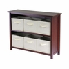 Verona W Storage Shelf - Winsome Trading - 94891