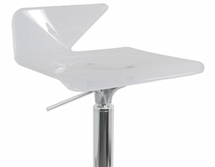 Vertex Bar Stool in White - Lumisource - ADW-VERTEX-W