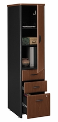 Vertical Locker (Assembled) - Series A Hansen Cherry Collection - Bush Office Furniture - WC94475SU