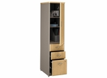 Vertical Locker - Series A Light Oak Collection - Bush Office Furniture - WC64375