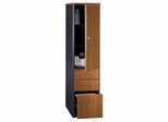 Vertical Locker - Series A Natural Cherry Collection - Bush Office Furniture - WC57475