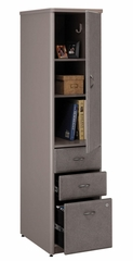 Vertical Locker - Series A Pewter Collection - Bush Office Furniture - WC14575