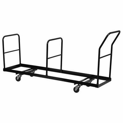 Vertical Storage Folding Chair Dolly - 35 Chair Capacity - NG-DOLLY-309-35-GG