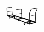 Vertical Storage Folding Chair Dolly - 50 Chair Capacity - NG-DOLLY-309-50-GG