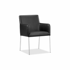 Vertigo Black Chair - Set of 2 - Zuo
