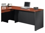 Via Desk Return Classic Cherry / Soft Black - Sauder Furniture - 401446