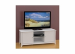 Vice Versa 58'' TV Stand - 2 Two-Sided Reversible Doors, 2 Open Areas - Nexera Furniture