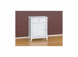 Vice Versa Hall Console - Reversible Door, Drawer & Shelf - Nexera Furniture
