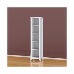 Vice Versa Open Decorative Bookcase with 3 Adjustable Shelves - Nexera Furniture