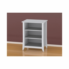 Vice Versa Stereo Cabinet with 3 Shelves & Wire Management - Nexera Furniture