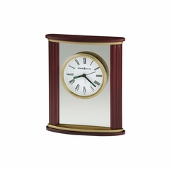 Victor Quartz Alarm Clock in Rosewood - Howard Miller