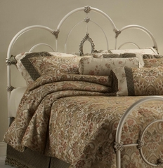 Victoria Headboard Twin Size in Antique White - Hillsdale - 1310-340