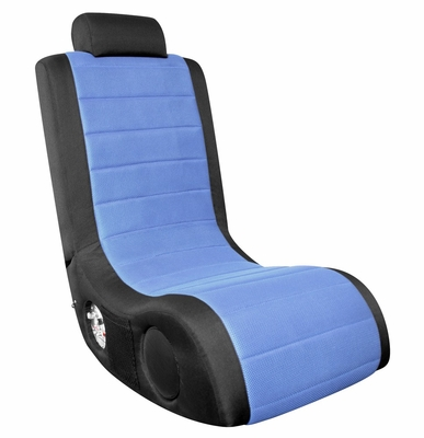 Video Game Chair - Boom Chair A44 in Black / Blue - LumiSource - BM-44AX-CBK-BU