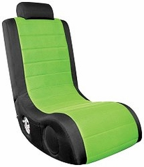 Video Game Chair - Boom Chair A44 in Black / Green - LumiSource - BM-44AX-CBK-G