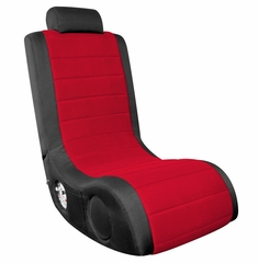 Video Game Chair - Boom Chair A44 in Black / Red - LumiSource - BM-44AX-CBK-R