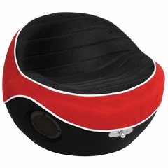 Video Game Chair - BoomPod Black/Red - LumiSource - BM-POD-R-BK