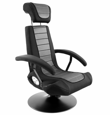 Video Game Chair - Stealth BoomChair Black - LumiSource - BM-STEALTH-BK