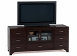 "Vienna Espresso 70"" TV Stand with 7 Drawers - 046-9"
