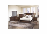 View 5 Piece Bedroom Set Dark Cherry - Largo - LARGO-WG-B2133-SET