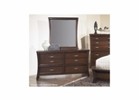 View Dresser Dark Cherry - Largo - LARGO-ST-B2133-10