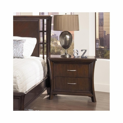 View Nightstand Dark Cherry - Largo - LARGO-ST-B2133-40