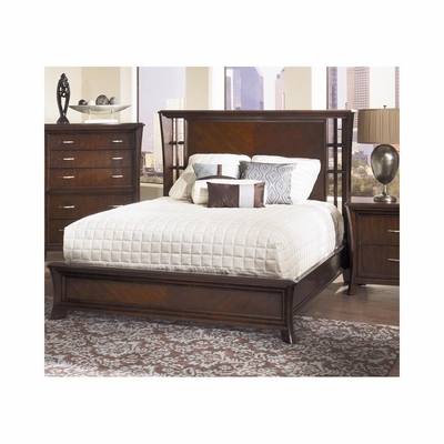 View Wood Bed Dark Cherry - Largo - LARGO-ST-B2133-BED