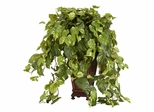 Vining Pothos with Decorative Vase Silk Plant - Nearly Natural - 6703
