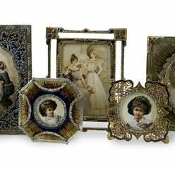 Vintage Jeweled Frames (Set of 8) - IMAX - 21141-8