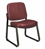 Vinyl Armless Guest/Reception Chair - OFM - 405-VAM