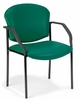 Vinyl Guest/Reception Chair (4 legs) - OFM - 404-VAM