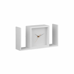 Visage Black Table Clock - Zuo