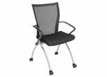 Visitor Chair(Set of 2) - Apprentice Nesting Chair - 2109BK-SET