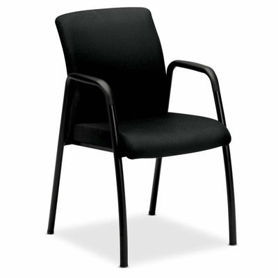 Visitor Chair w/Arms - Black - HONIGCLEUNT10T