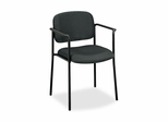 Visitor Chair With Arms - Charcoal - BSXVL616VA19