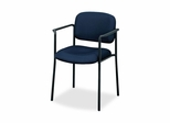 Visitor Chair With Arms - Navy - BSXVL616VA90