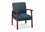 Visitor Chairs - Cherry/Midnight Blue - LLR68553