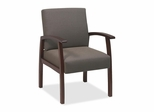 Visitor Chairs - Cherry/Taupe - LLR68552