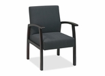 Visitor Chairs - Mahogany/Charcoal - LLR68551