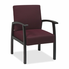 Visitor Chairs - Mahogany/Ruby - LLR68550