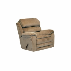 Vista Chaise Rocker Recliner in Sandalwood - Catnapper