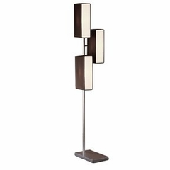 Vivid Floor Lamp in Silver - Lumisource - LS-VIVIDFL-BK-W